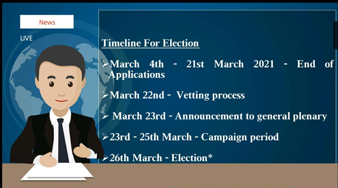 AAG EB ELECTIONS: FRIDAY 26TH MARCH